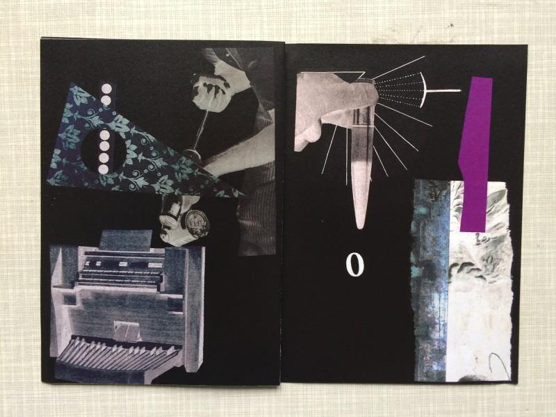 Contribution by David Dellafiora book third double page for KART 90 running by David Dellafiora