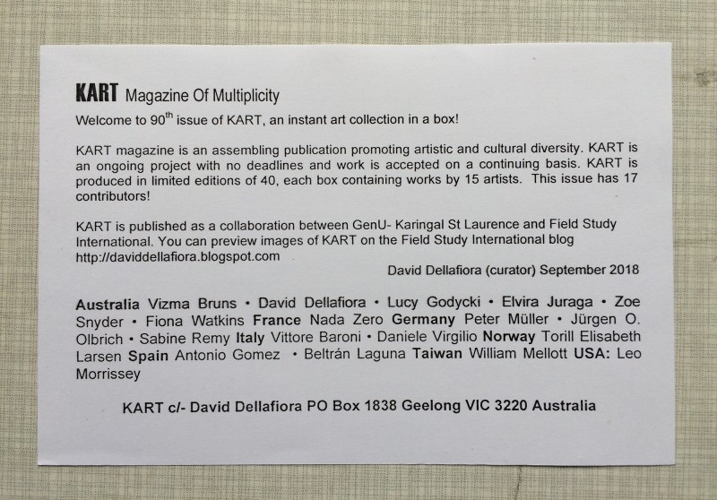 KART 90 by David Dellafiora the participants