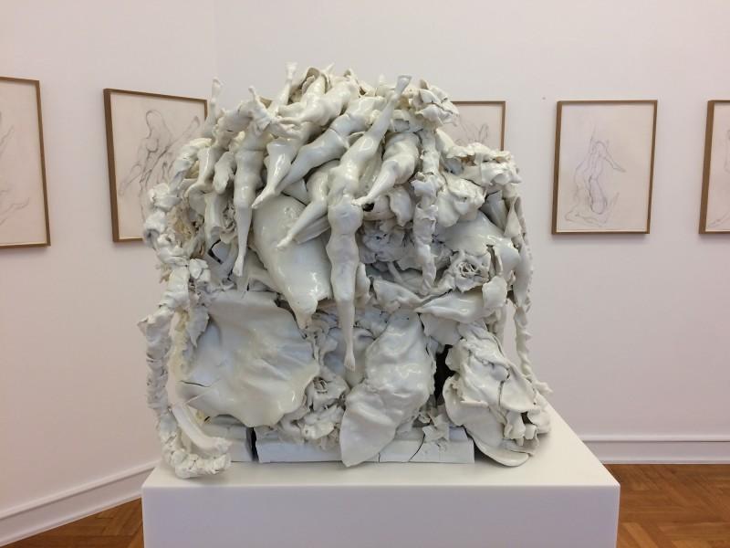 Rachel Kneebone - Act III - 2016 background Rachel Kneebone Glyndebourne I-X - 2016 at Museum Morsbroich - Leverkusen - Der flexible Plan 2018