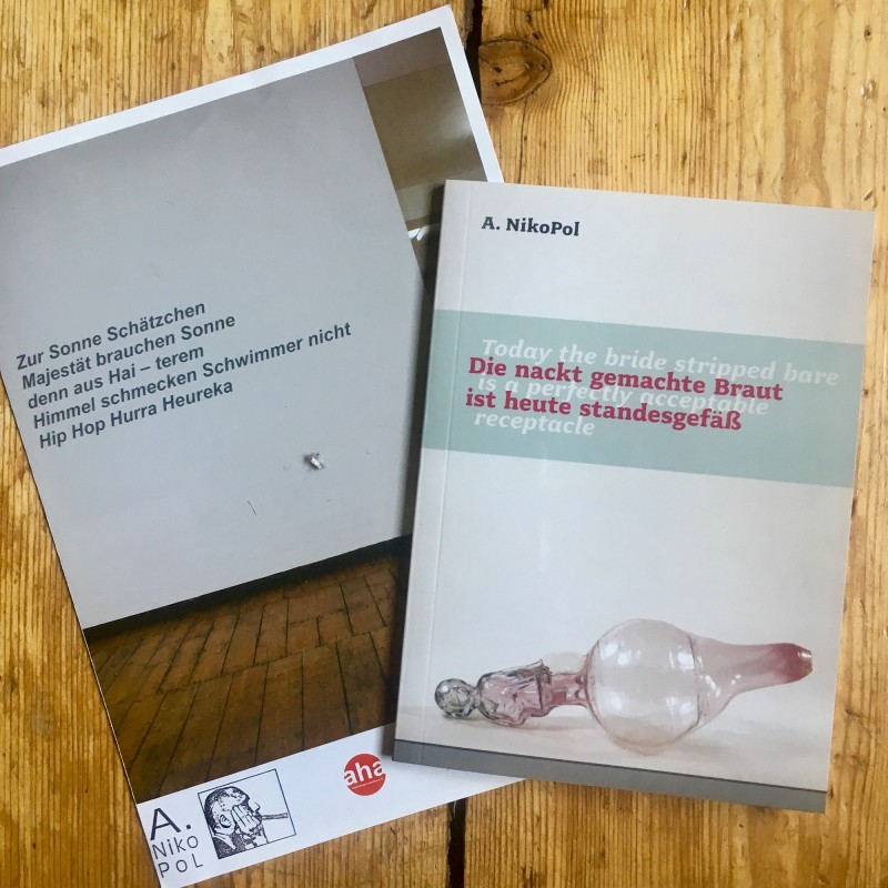 Traded with  Alexander NikoPol: A wonderful catalog of his glass work including a very interesting reading about it. Thank you so much A.NikoPol for being interested in trading - that was fun!<br>Getauscht mit Alexander NikoPol: Einen wunderbaren Katalog mit Glaskunstarbeiten von ihm und einem sehr interessanten Begleittext. Vielen Dank, dass Du Lust zum Tauschen hattest - das hat mir Spaß gemacht!