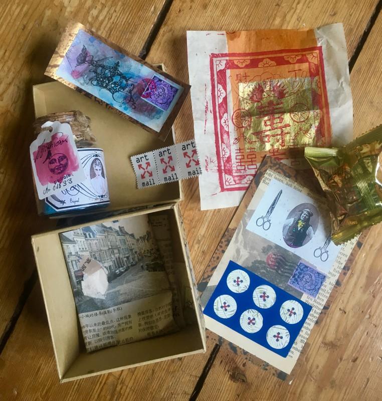 Traded with Petra Lorenz <br>Getauscht mit Petra Lorenz - hier auch die Editions-Karte zu sehen
