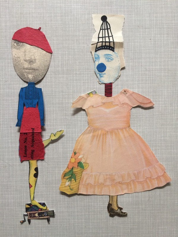 Dada Paper Dolls by Dawn Nelson Wardrope