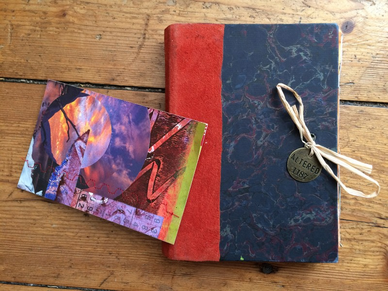Heather Harker - Original artist book and postcard