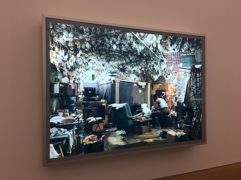 Jeff Wall - After Invisible Man by Ralph Ellison, the prologue -1999 - 2001 - at MUDAM Luxembourg - Appearance