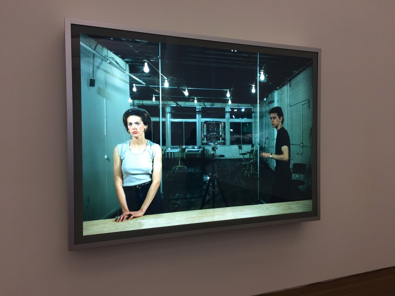 Jeff Wall - Picture of Women - 1979 - at MUDAM Luxembourg - Appearance