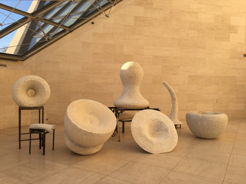 Tony Cragg - Forminifera  - 1994 - at MUDAM Luxembourg