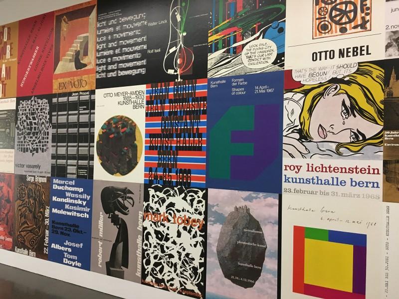 Harald Szeemann - Museum der Obsessionen - Kunsthalle Duesseldorf - Ausstellungsplakate der Kunsthalle Bern von 1961 - 1969 Teil 2
