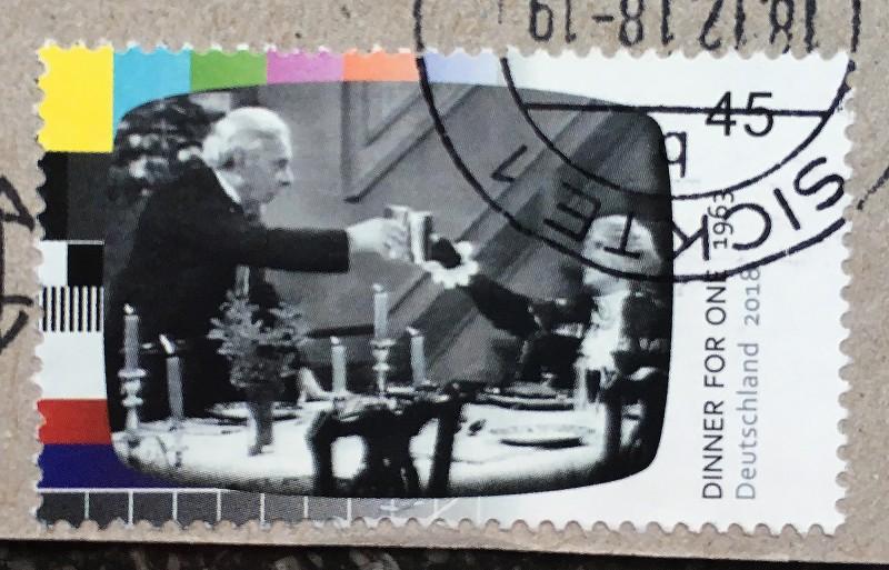 Post von Mano Dez 2018 Briefmarke