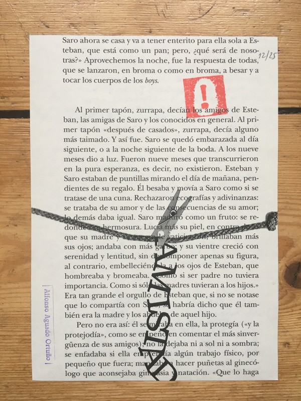 Zine in a box No 17 - 2018 - Alfonso Aguado Ortuno