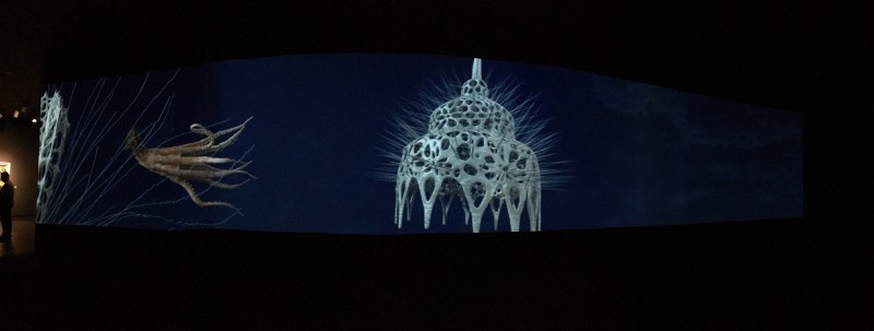 AES+F - Inverso Mundus - Three channel video 2015 - at SCAD Museum of ART Savannah 2019 - Filmstil 3