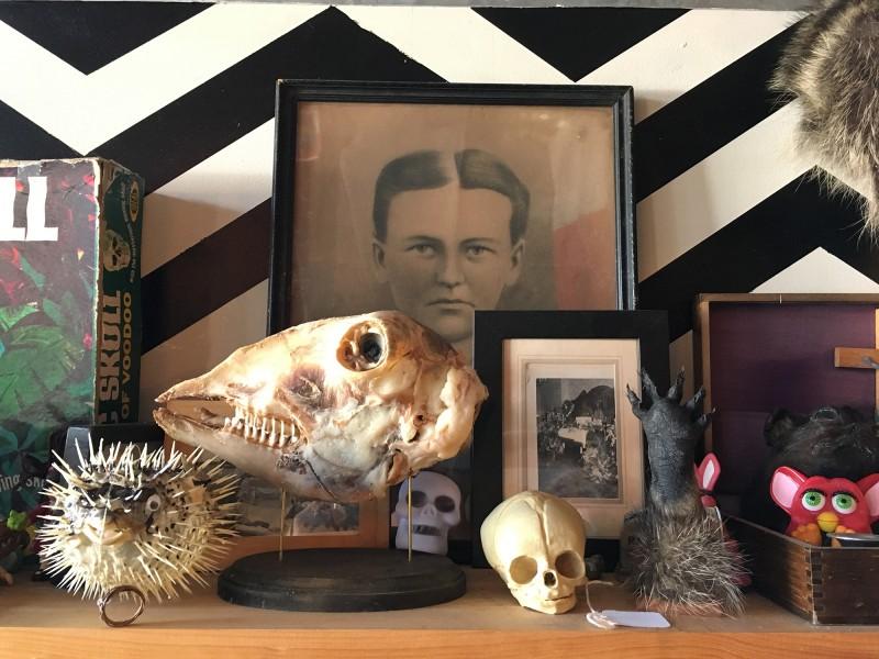 Detailaufnahme bei Graveface / Detail photo at Graveface