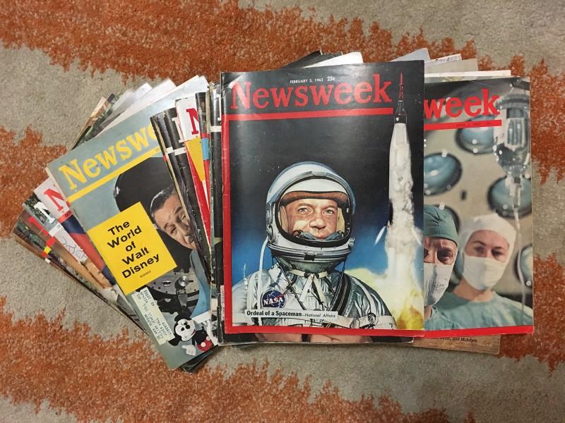 Newsweek Magazin aus den 60gern von Gregory Eltringham/ Newsweek Magazins form the 60ies fomr Gregory Eltringham
