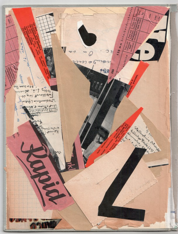 Hommage to Kurt Schwitters - Rapid