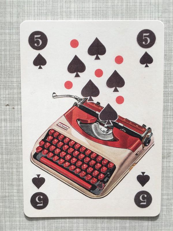 My contribution for MarcDeck / Mein Beitrag zum Kartenspiel