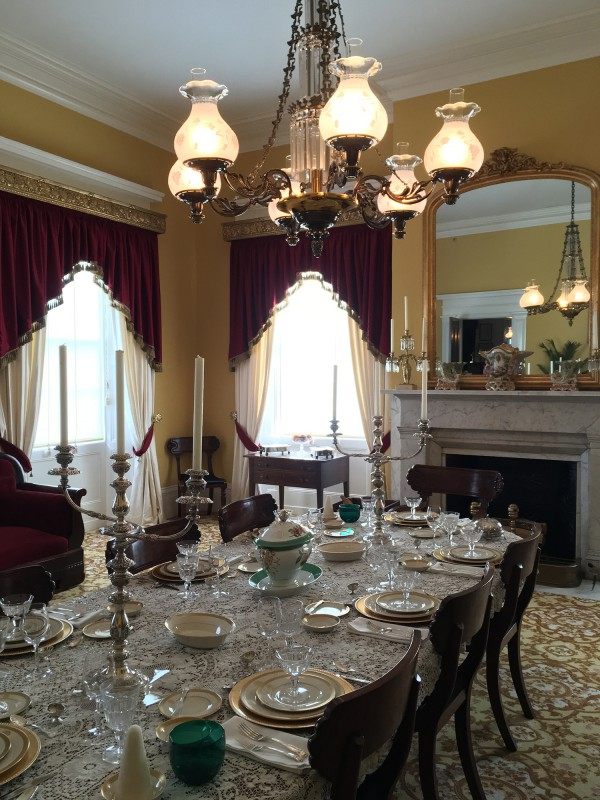 Old Governor s Mansion - Diningroom - in Milledgeville