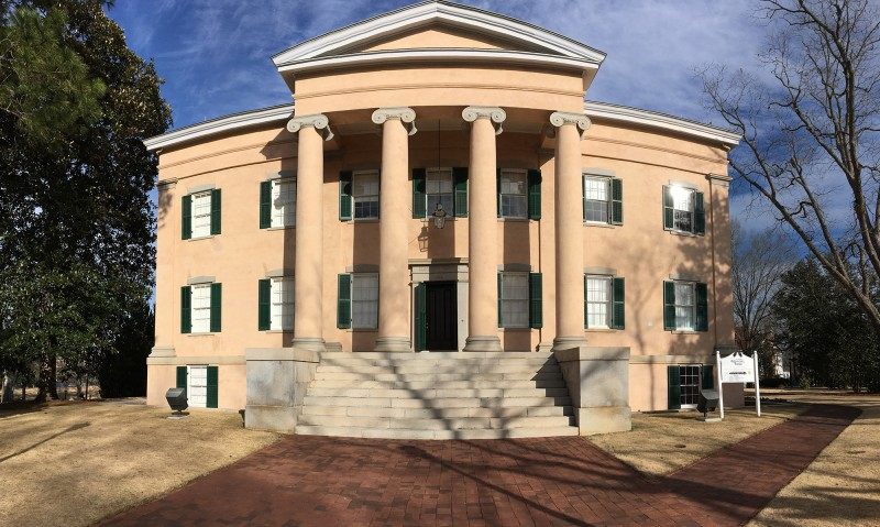 Old Governor s Mansion in Milledgeville 1