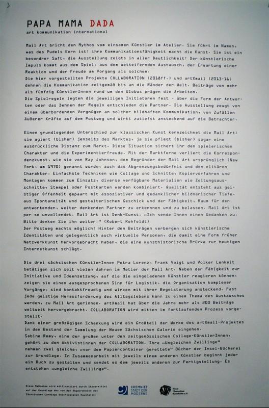 Text Infotafel Museum