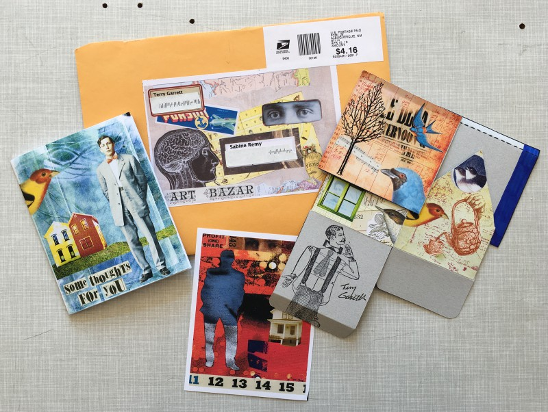 Incoming Mail Art April 2019 Terry Garrett - 1