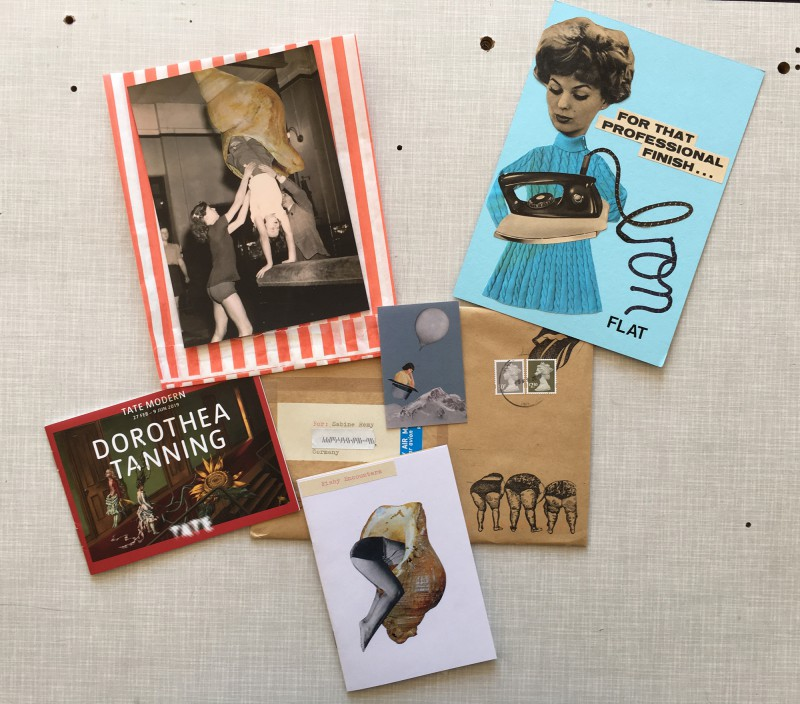 Incoming Mail Art from Gina Ulgen April 2019 - 1