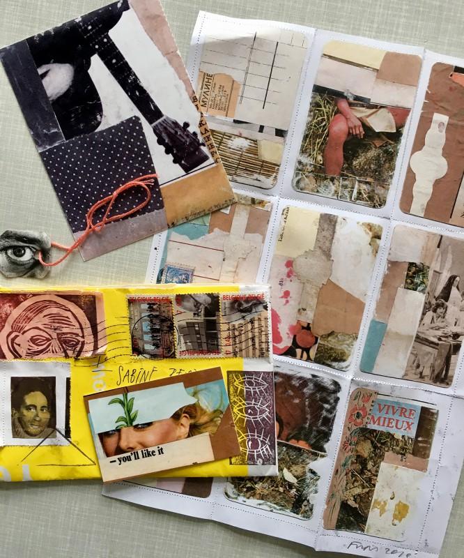 Incoming Mail Art from Ria Bauwens aka Frips aka necessityofnonsense - 3