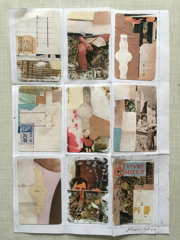 Incoming Mail Art from Ria Bauwens aka Frips aka necessityofnonsense - 5