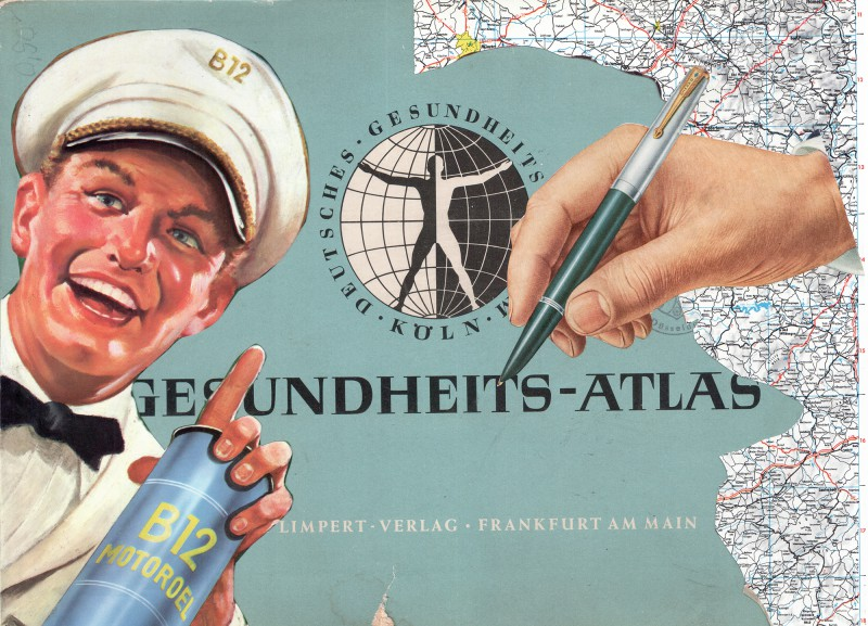 Gesundheits Atlas Titelblatt Health Atlas Cover
