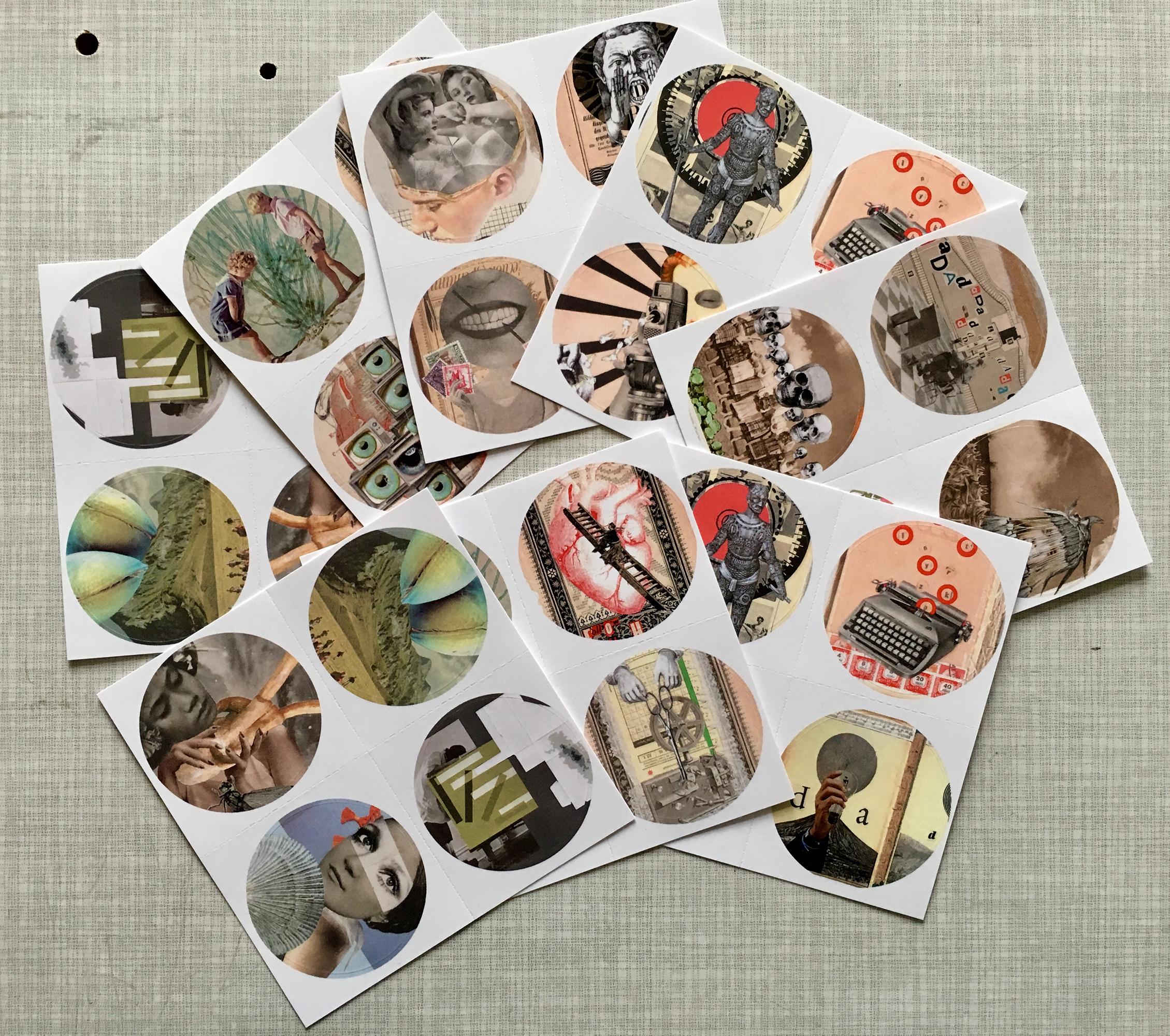 Sabine Remy Miriskum Collage Collage Blog Collage Art