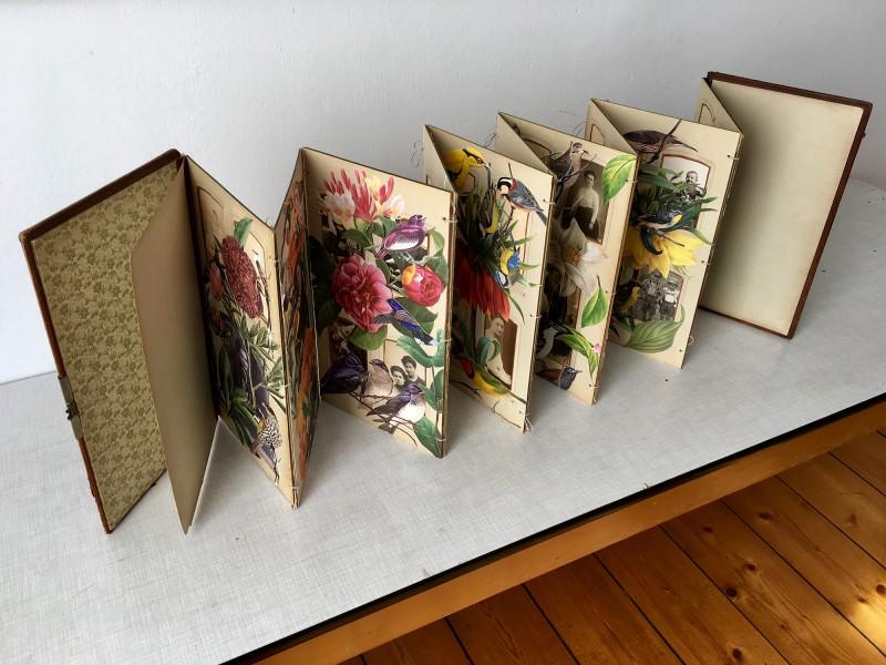 Viktoriansches Fotoalbum - stehend 2