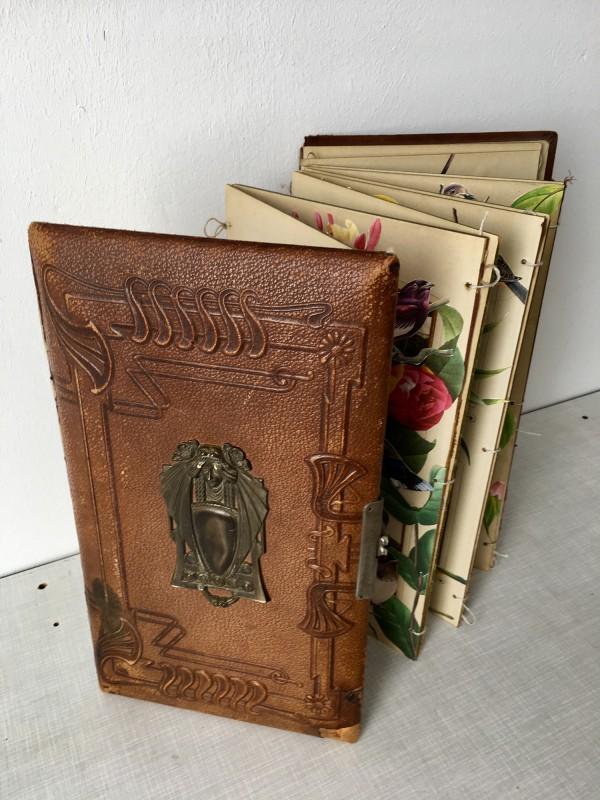 Viktoriansches Fotoalbum - stehend 3