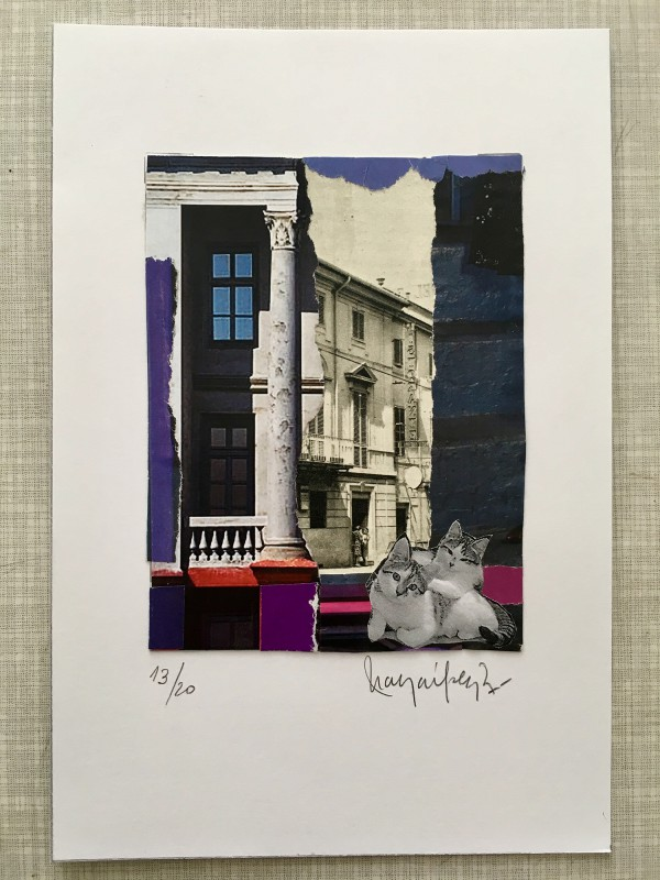 Attic Zine No4 - Purple - Maya Lopez Muro