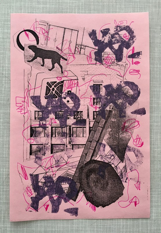 Attic Zine No4 - Purple - Vitaly Maklakov
