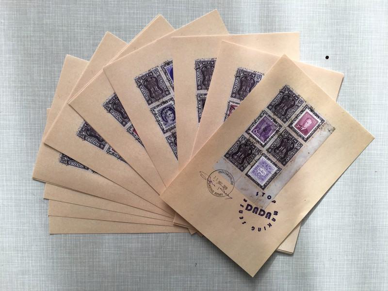 Attic Zine No4 - Purple - Sabine Remy - my contribution all together