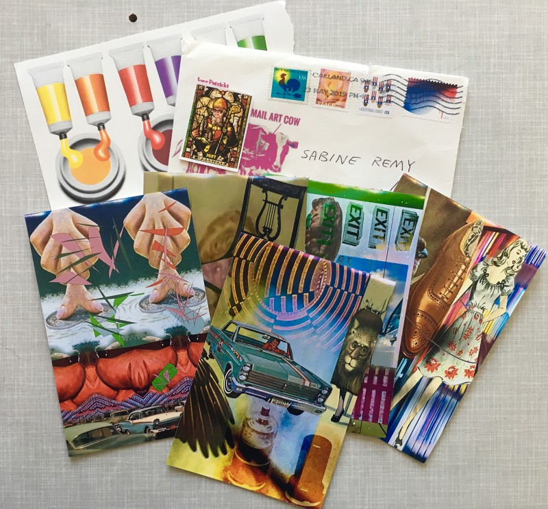 INcoming Mail Art from Joey Patrickt May 2019 - 1
