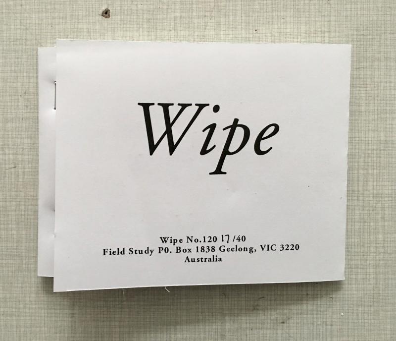 Wipe 120 running by David Dellafiora