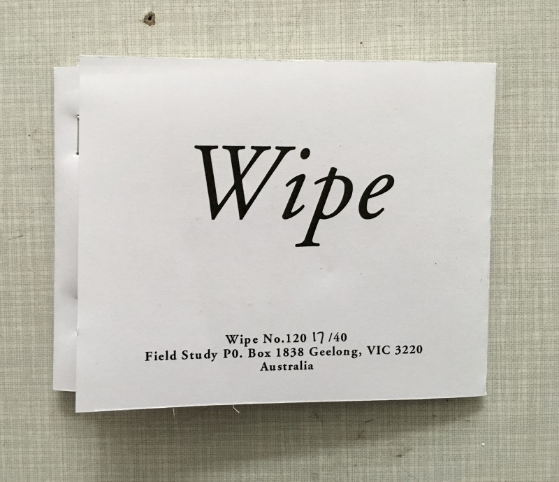 Wipe 120 running by David Dellafiora