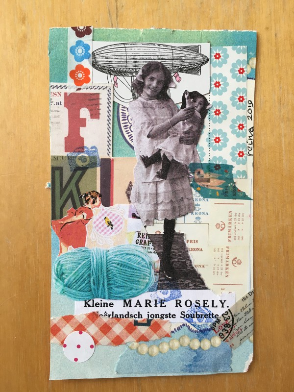 2019 - INcoming mail art from Reina Huges - 3