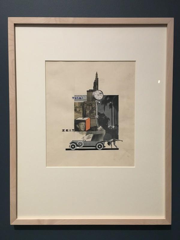 Museum Folkwang - Der montierte Mensch - Erwin Wendt - Total-Zeit - Total time - 1928