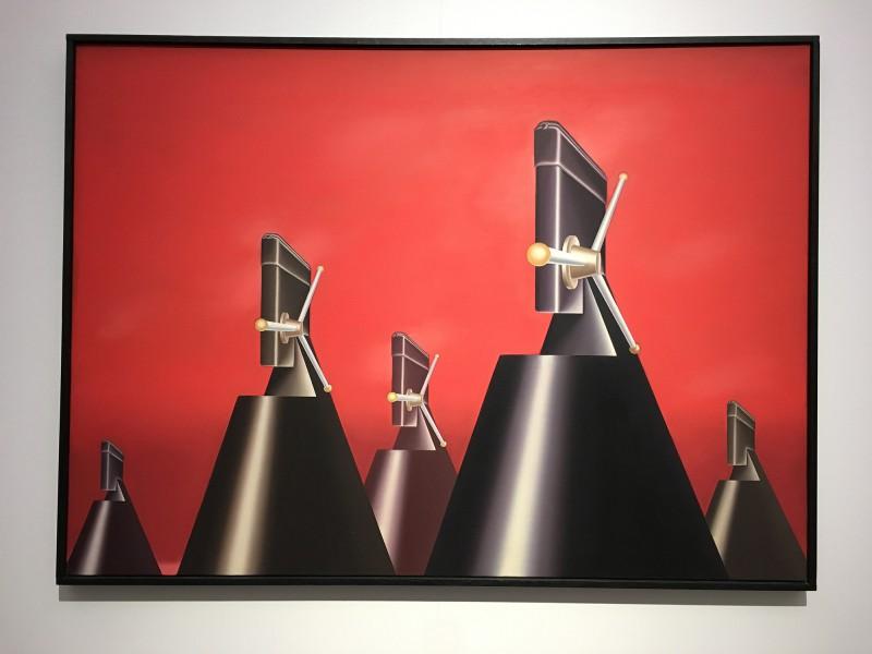 Museum Folkwang - Der montierte Mensch - Konrad Klapheck - Der Krieg - War - 1965