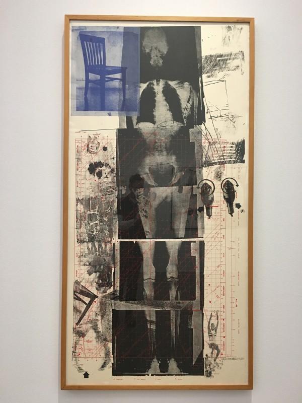 Museum Folkwang - Der montierte Mensch - Robert Rauschenberg - Booster - Verstärker - 1967