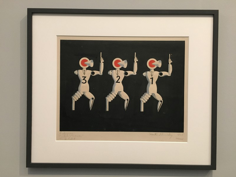 Museum Folkwang - Der montierte Mensch - Xanti Schawinsky - Die beiden Veroneser - Räuberballett - The Two Gentlemen of Verona - The Robber Ballet - 1925