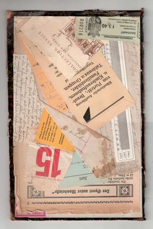 Homage to Kurt Schwitters - Der Sport unter Mondeinfluss - Sport under the influence of the moon