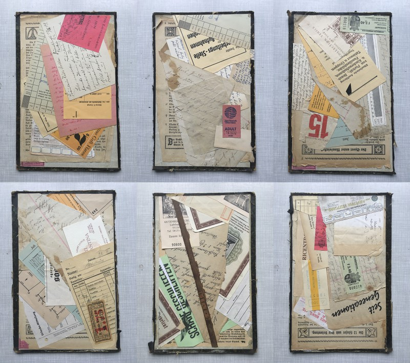 Homage to Kurt Schwitters - all together