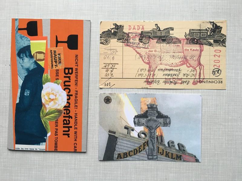 Incoming Mail Art Stefan Heuer Frank Voigt Carrie Helser
