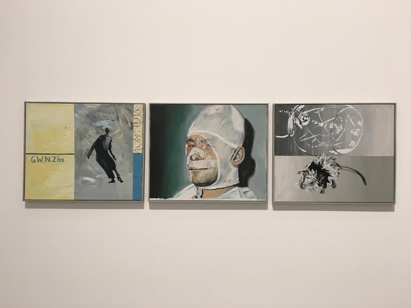 Martin Kippenberger - Bitteschön Dankeschön - Eine Retrospektive -Bundeskunsthalle Bonn 2019 - Berlin bei Nacht - Berlin at night 1981