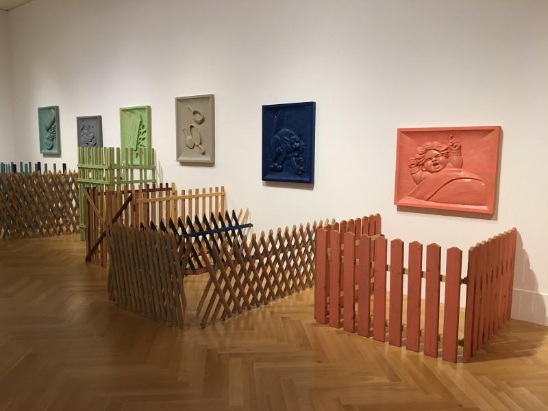Martin Kippenberger - Bitteschön Dankeschön - Eine Retrospektive -Bundeskunsthalle Bonn 2019 -Don´t Wake Up Daddy - 1994