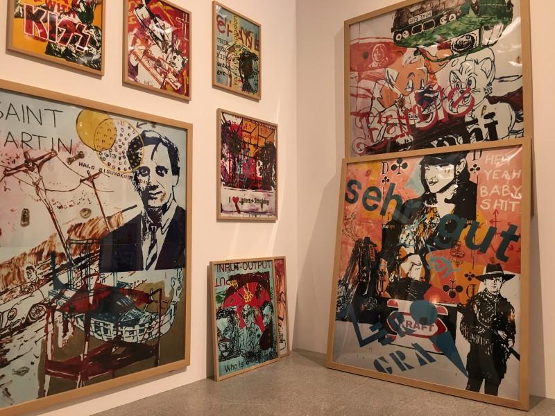 Martin Kippenberger - Bitteschön Dankeschön - Eine Retrospektive -Bundeskunsthalle Bonn 2019 -Heavy Burschi - Heavy Lad - 1989 1990 - Detail 4