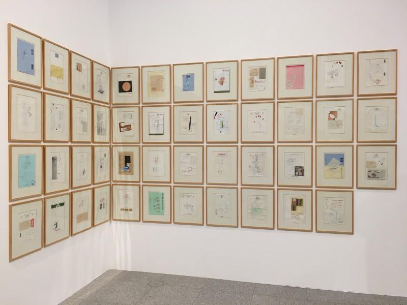 Martin Kippenberger - Bitteschön Dankeschön - Eine Retrospektive -Bundeskunsthalle Bonn 2019 - Nochmal Petra (verschiedene Titel) - Another Petra - (Various titles)  1987