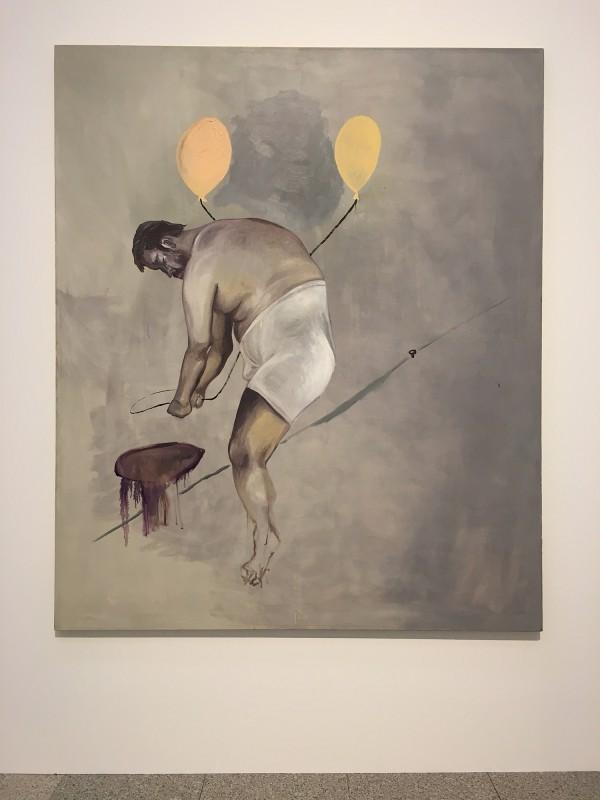 Martin Kippenberger - Bitteschön Dankeschön - Eine Retrospektive -Bundeskunsthalle Bonn 2019 - ohne Titel (aus der Serie Selbstporträts) - Untitled (from the series Self-portraits - 1988