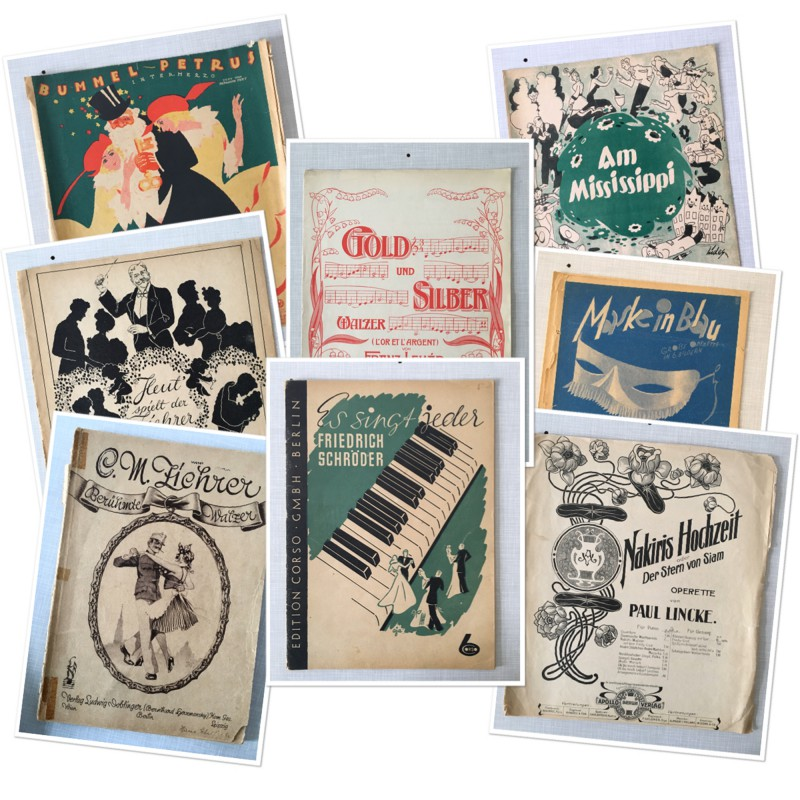 Notenhefte - Music Books - 2