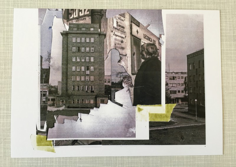 Collage Language - Dom Kultury Praga Warschau - Project by Marta Janik und Alex Urso